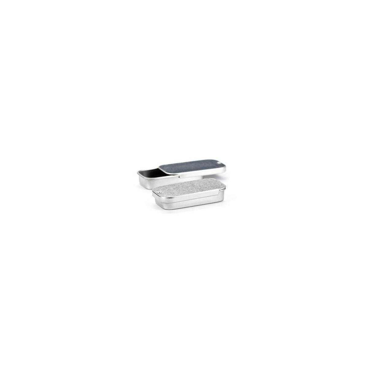Boîte en aluminium pour baume à lèvre (slide tin)