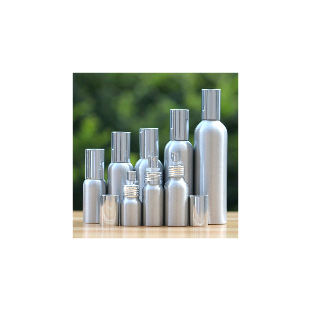 Flacon aluminium spray 125ml