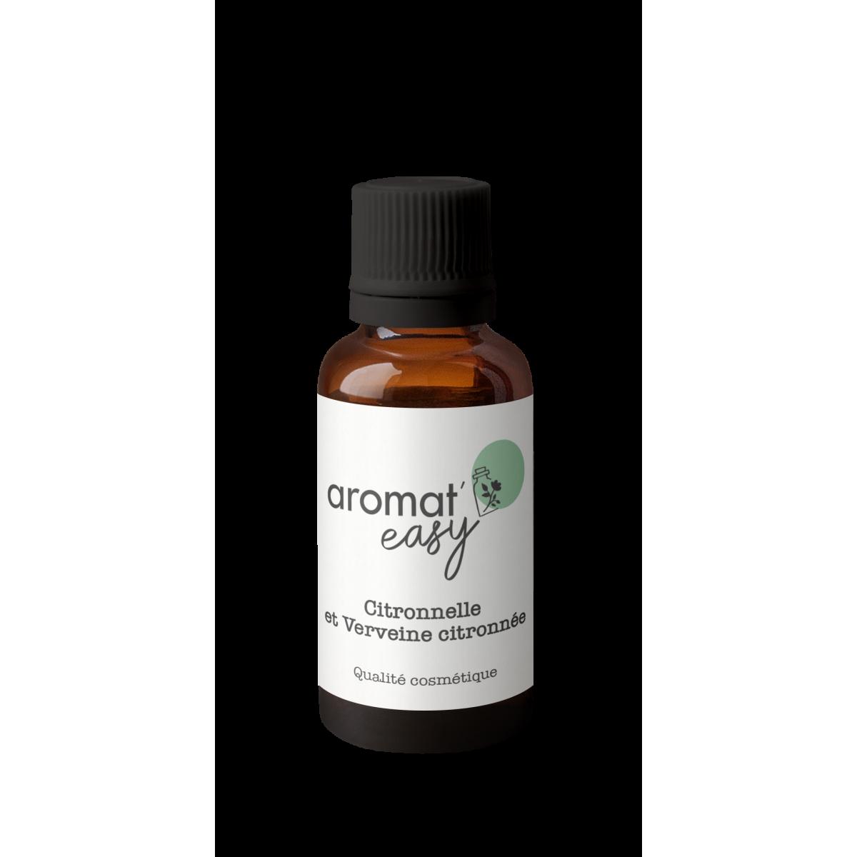 Fragrance Citronnelle et Verveine citronnée