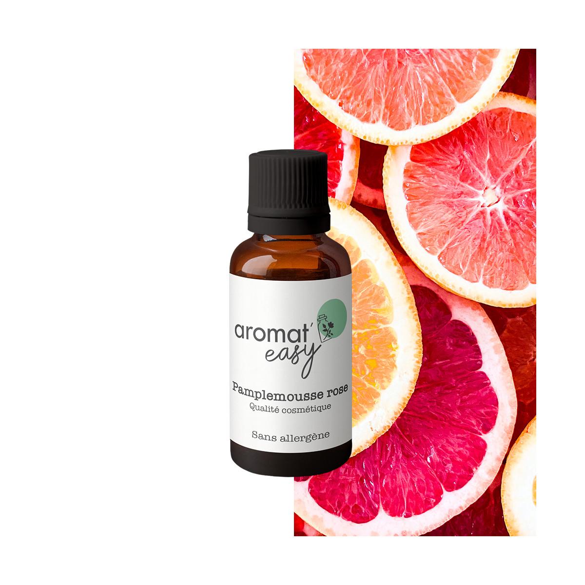 Fragrance Pamplemousse rose - Sans allergène