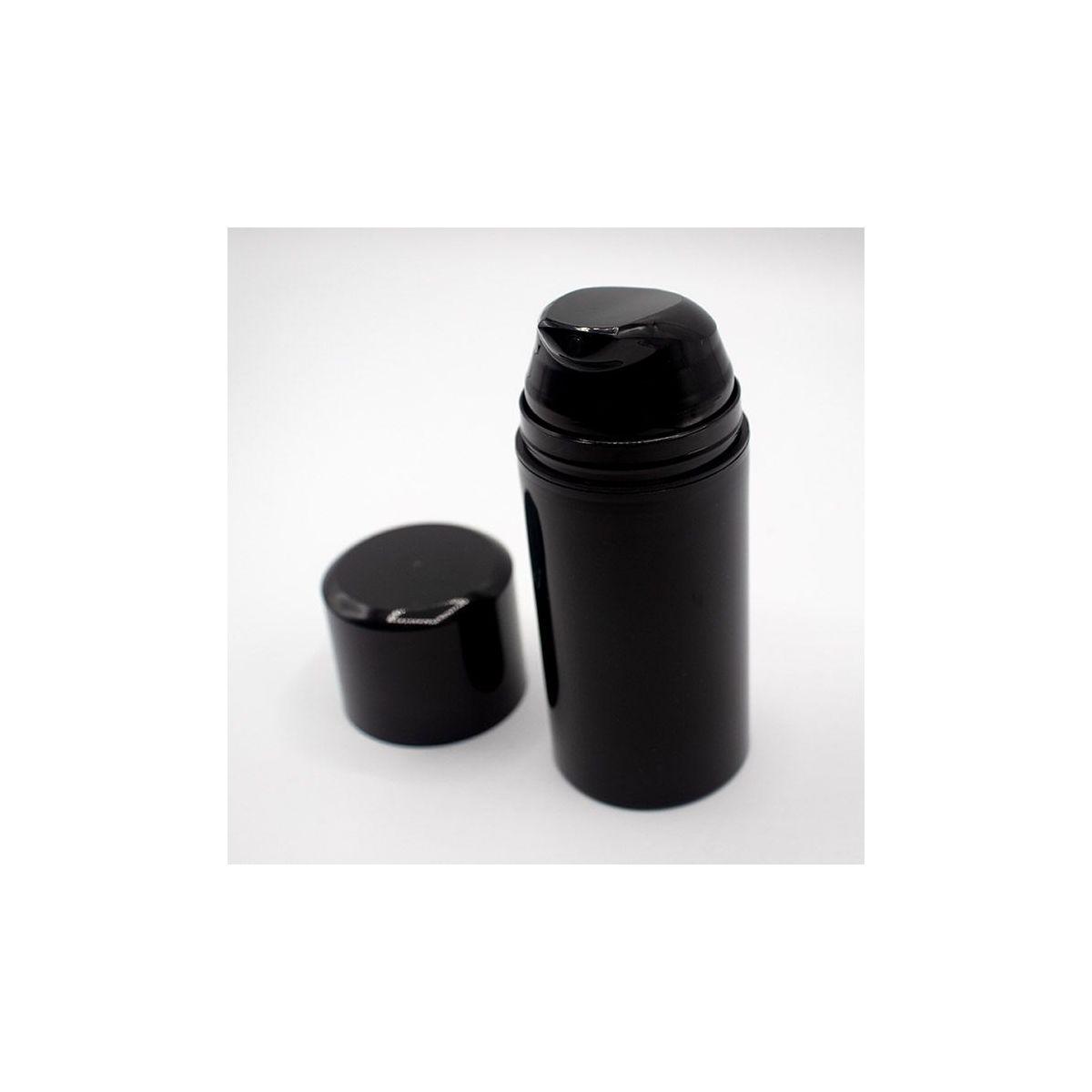 Flacon airless noir 100ml